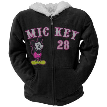 Mickey Mouse - Mickey Straight Women's Zip Hoodie