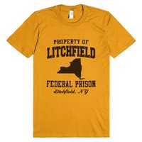 Litchfield Federal Prison-Unisex Mandarin Orange T-Shirt