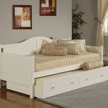 1525-staci-daybed-w-trundle-white - Free Shipping!