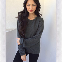 Nadya Sweater- Grey