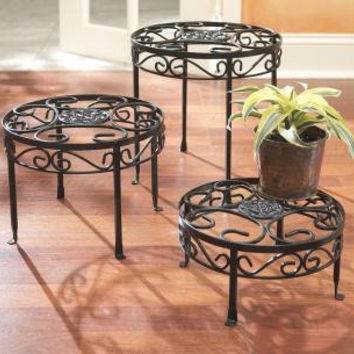 3 Table Stands - Made Of Iron