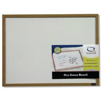 "Quartet 35-380382 Wood Frame Dry Eraser Board, 23"" x 35"""