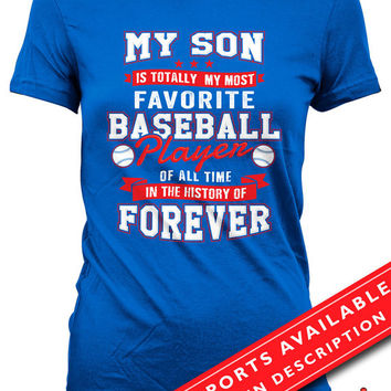 Baseball Shirts For Mothers Baseball Mom Shirt Baseball Lover Shirt Baseball Gifts For Mom Sports Fan Ladies T Shirt MD-665(BASEBALL)