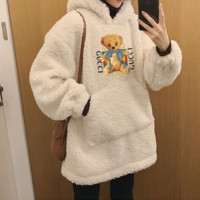 """Gucci"" Plush Sweater Long Sleeve Casual Fashion Top"