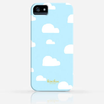 Toy Story Inspired Clouds Wallpaper iPhone 4 Case, iPhone 4s Case, iPhone 5 Case, iPhone 5s Case, iPhone Hard Plastic Case