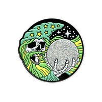 Wizard Pin (Glow-in-the-Dark)