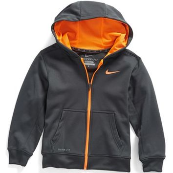 Boy's Nike 'KO 2.0' Therma-FIT Full Zip Hoodie,