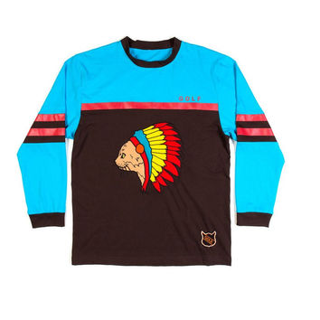 NATIVE CAT JERSEY BROWN – Odd Future