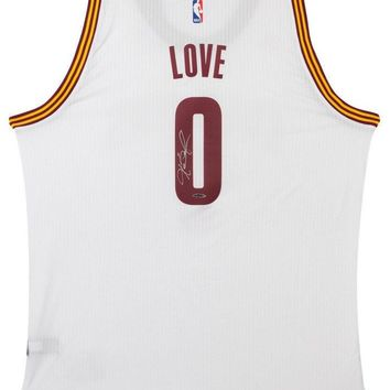 Kevin Love Signed Autographed Cleveland Cavaliers Basketball Jersey (Upper Deck Authenticated)