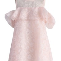 Lovely Petals Frilling Babydoll Dress in Pink