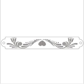 Spindrift Flower Lace Reusable Stencil Airbrush Painting Art Cake Spray Mold DIY Decor Crafts