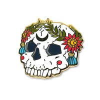 Ornate Skull Pin