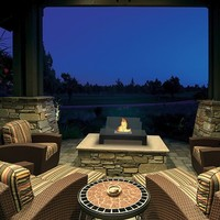 Gramercy Indoor Outdoor Bio-ethanol Fireplace