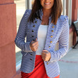 Knock Out Blazer {Royal}