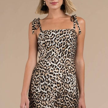 Out Of The Jungle Shift Dress