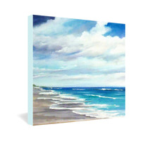Rosie Brown Beach 1 Gallery Wrapped Canvas