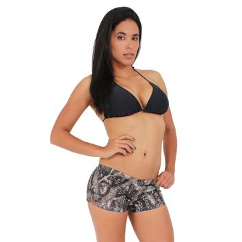 Women's Camo Hot Shorts True Timber Camouflage Bottoms Made in the USA