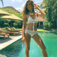New Arrival Summer Swimsuit Hot Beach Sexy Knit Swimwear Set Bikini [9864350093]