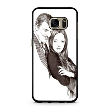 Morticia And Gomez Addams Addams Family Inspired Samsung Galaxy S7 Case