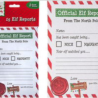 Elf Reports Note Pad