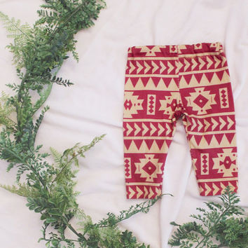 baby leggings, organic baby leggings, baby girl leggings, baby boy leggings, florida state baby, fsu baby leggings, tribal baby leggings,