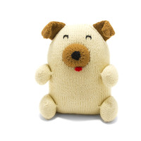 Hand-knitted Chubby Cotton Puppy