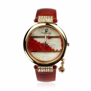 OSTRICH KING Luxury Rhinestone-studded Fashion Watch