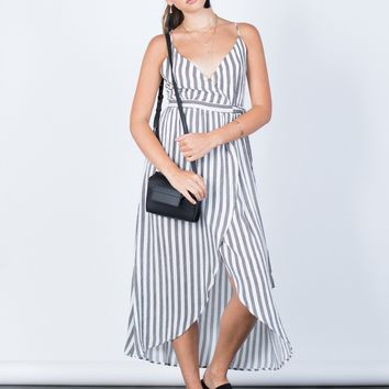 Alexa Striped Dress
