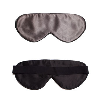 Dark Grey Silk Sleep Mask