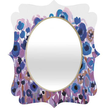 Natasha Wescoat Glowing Perussian Quatrefoil Mirror