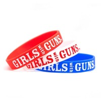 Wristband Pack - Patriotic   Girls with Guns Clothing