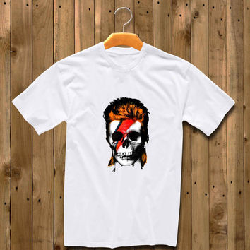 Ziggy Stardust Skull shirt for man and woman shirt / tshirt / custom shirt
