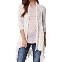 O'Neill Keller Cardigan - Womens Sweater - White