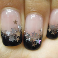 Confetti Star Nail Art Mix by PrettyGirlNailSwag on Etsy