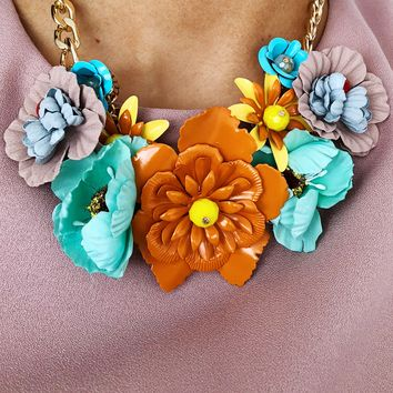 The Perfect Bouquet Necklace: Multi