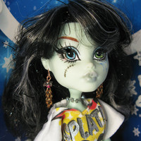 """Monster High and Ever After High doll jewelry earrings """"Fairy-Berry"""" fashion doll Christmas gift New Year gift"""