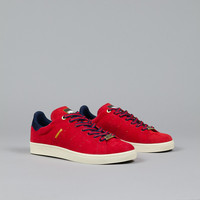Adidas Stan Smith Vulc Powder Red / Navy / Gold