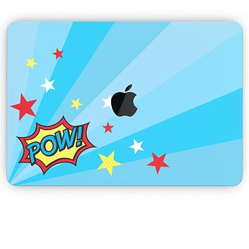 Comic Series / Comic Book Actions V5 - Apple MacBook Pro, Pro with Touch Bar or Air Skin Decal Kit (All Versions Available)