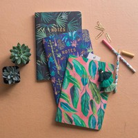 Botanical Notebook Trio by Justina Blakeney