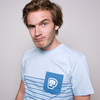 PewDiePie - Striped Pocket Men's Tee | Rodeo Arcade