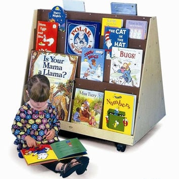 Whitney Brothers Two Sided Book Display Stand