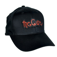 The Cure Hat Goth Music Baseball Cap Robert Smith Gothic Clothing Punk