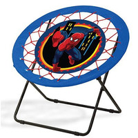 Spiderman Bungee Chair. Fun Chair Great for Children Play Room Furniture by Marvel