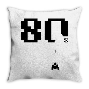 Made in the 80's Throw Pillow