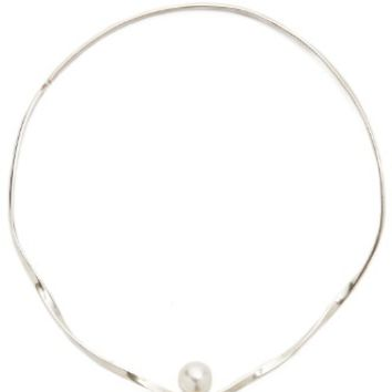 Choker with Glass Pearl