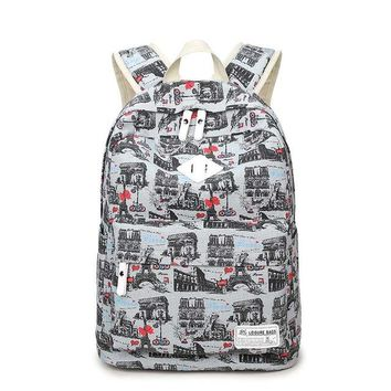 Cool Backpack school Fashion Lady Fashion Canvas Backpack Cute Cat Printing Back Pack School Bag Luxury College Bag for Girl Cosplay Party Cool AT_52_3