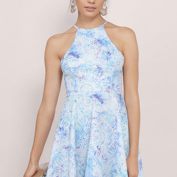 Love in the Sky Skater Dress