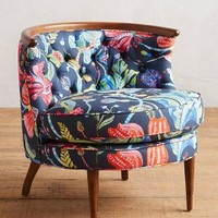 Printed Bixby Chair by Anthropologie Multi One Size Furniture