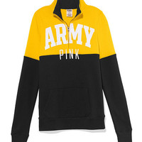 Army Colorblock Half Zip Pullover - PINK - Victoria's Secret