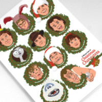 A Merry Cast of Christmas Characters Greeting Card